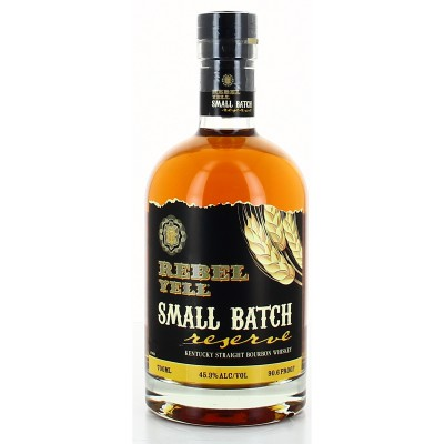 REBELL YELL SMALL BATCH RESERVE BOURBON 45.3° 70CL