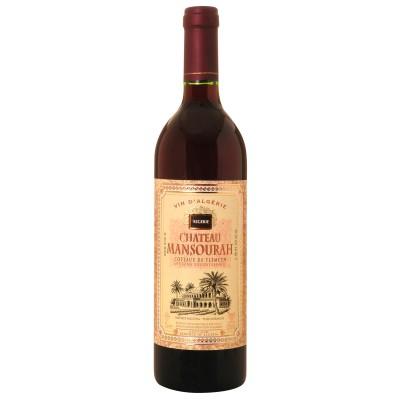 Bouteille de vin Tlemcen rouge château Mansourah - Algérie 75cl