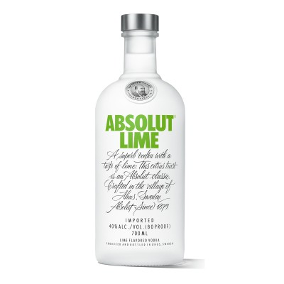 Absolut LIME Vodka 40°