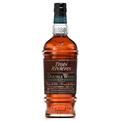 RHUM 3 RIVIERES DOUBLE WOOD 70CL 43°