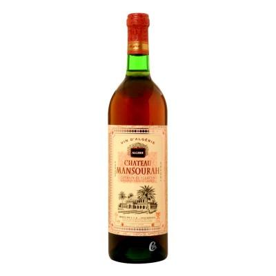Bouteille de vin CHATEAU MANSOURA Coteaux de Tlemcen 0,75L