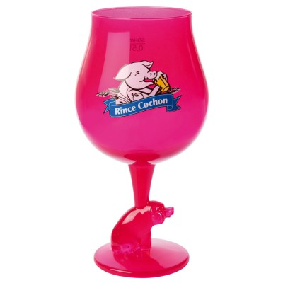 VERRE Rose / Pink Rince Cochon
