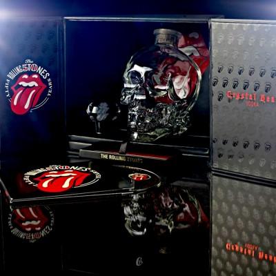 Coffret Vodka Rolling Stones, Crystal Head (40° - 70cl)