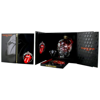 Coffret Vodka Rolling Stones, Crystal Head (40° - 70cl)