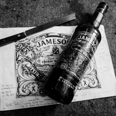 Jameson Irish Whiskey - Edition limitée St Patrick (40° - 70cl)