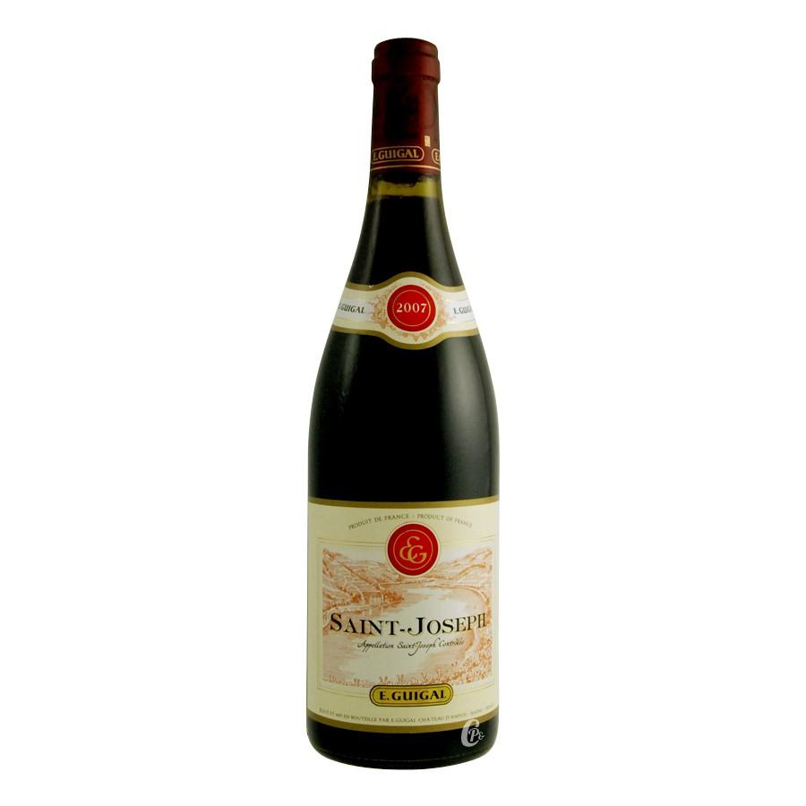 bouteille de vin saint joseph rouge 75 cl guigal. Black Bedroom Furniture Sets. Home Design Ideas