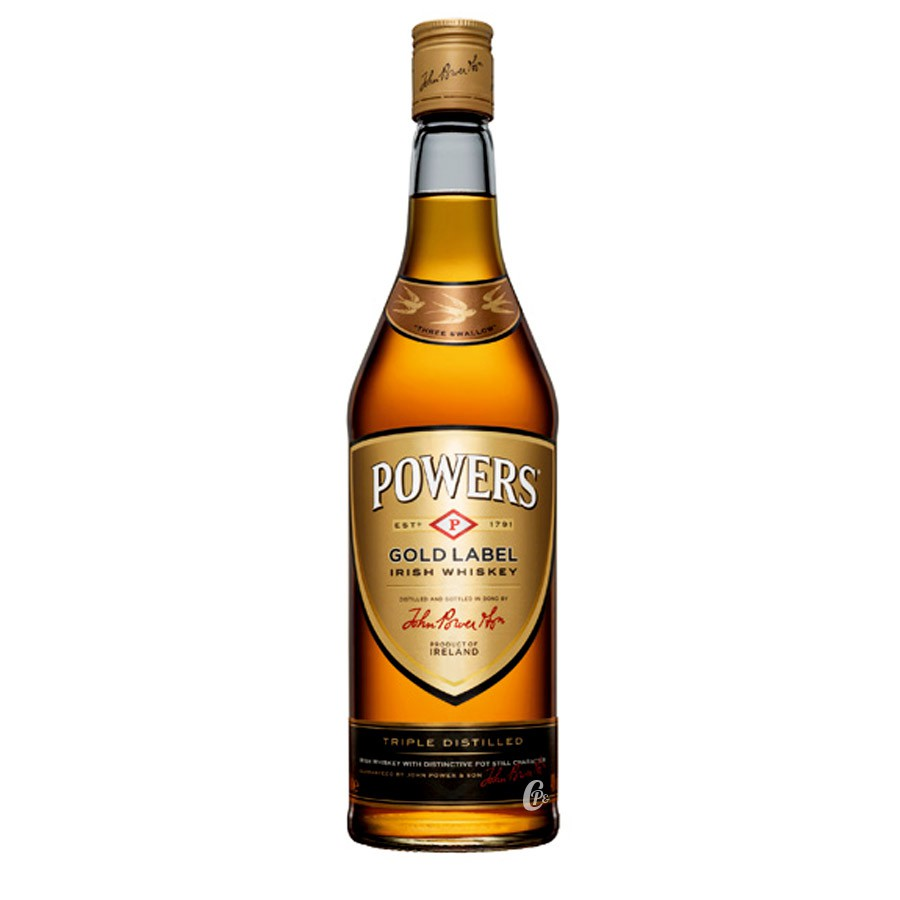 It is a picture of Clean Mekong Whisky Gold Label