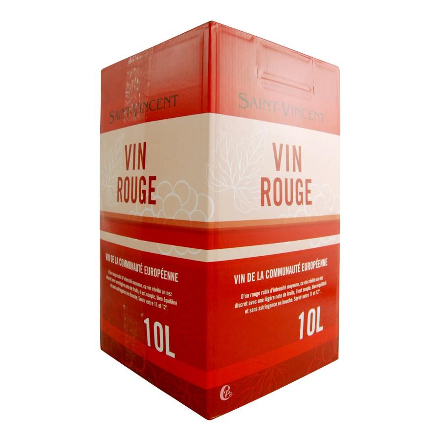 assemblage de vins dpce rouge saint vincent cubi de 10l. Black Bedroom Furniture Sets. Home Design Ideas