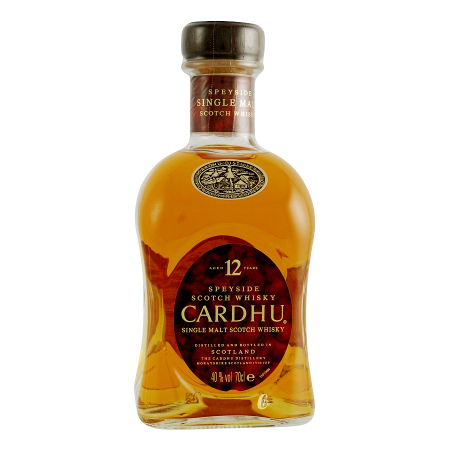 Bouteille de whisky cardhu 12 ans 40 70cl for Cocktail whisky miel