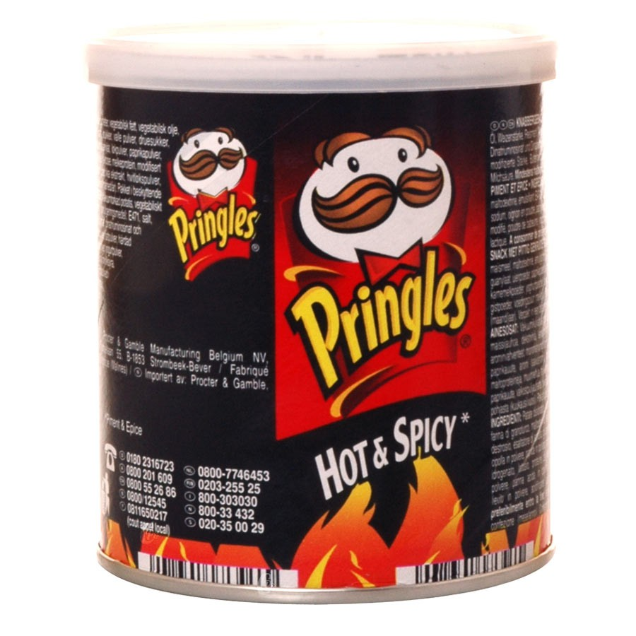 pringles hot et spicy g