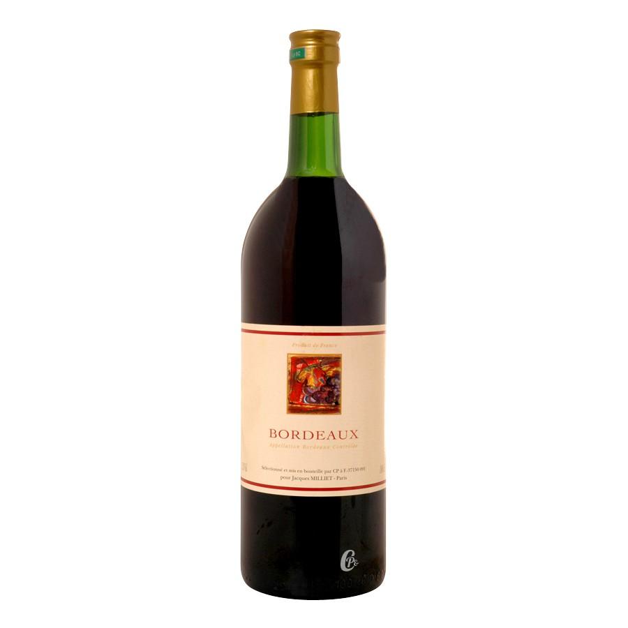 bouteille de vin bordeaux rouge 1l aoc. Black Bedroom Furniture Sets. Home Design Ideas