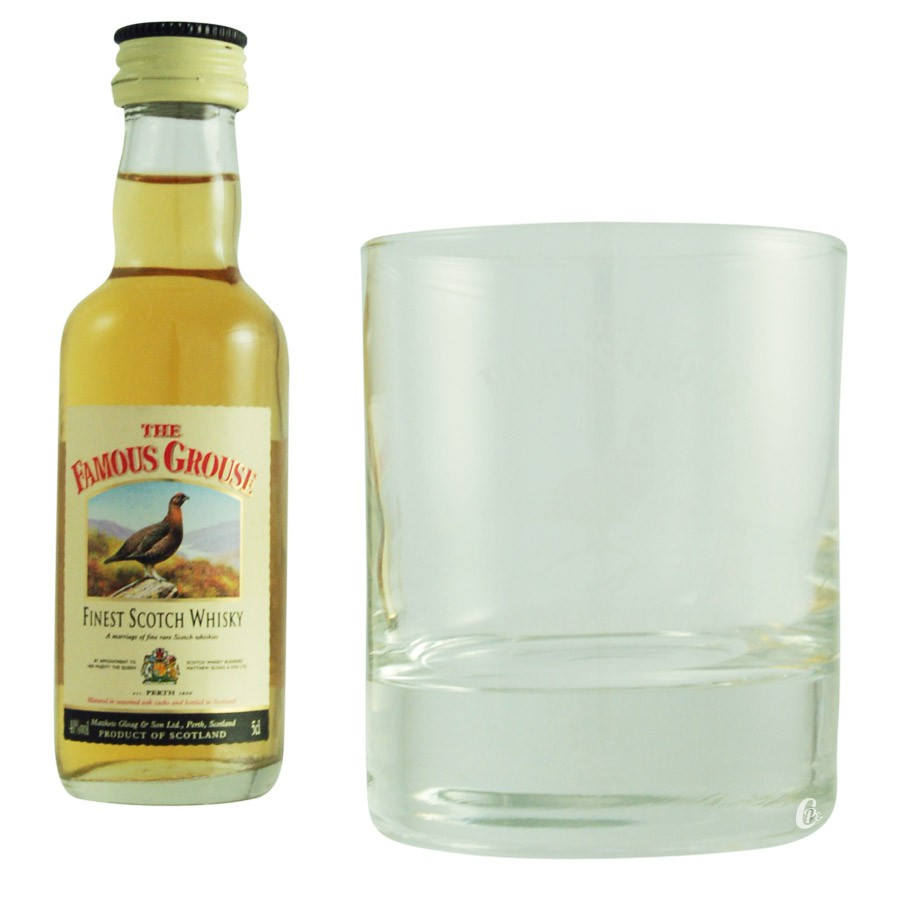 verre whisky famous grouse