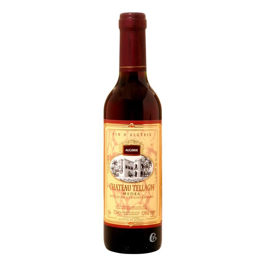 bouteille de vin rouge medea ch teau tellagh alg rie. Black Bedroom Furniture Sets. Home Design Ideas