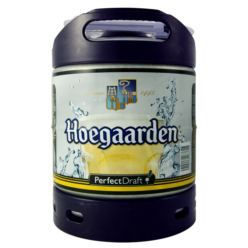 perfectdraft fut de biere blanche hoegaarden 6 litres. Black Bedroom Furniture Sets. Home Design Ideas