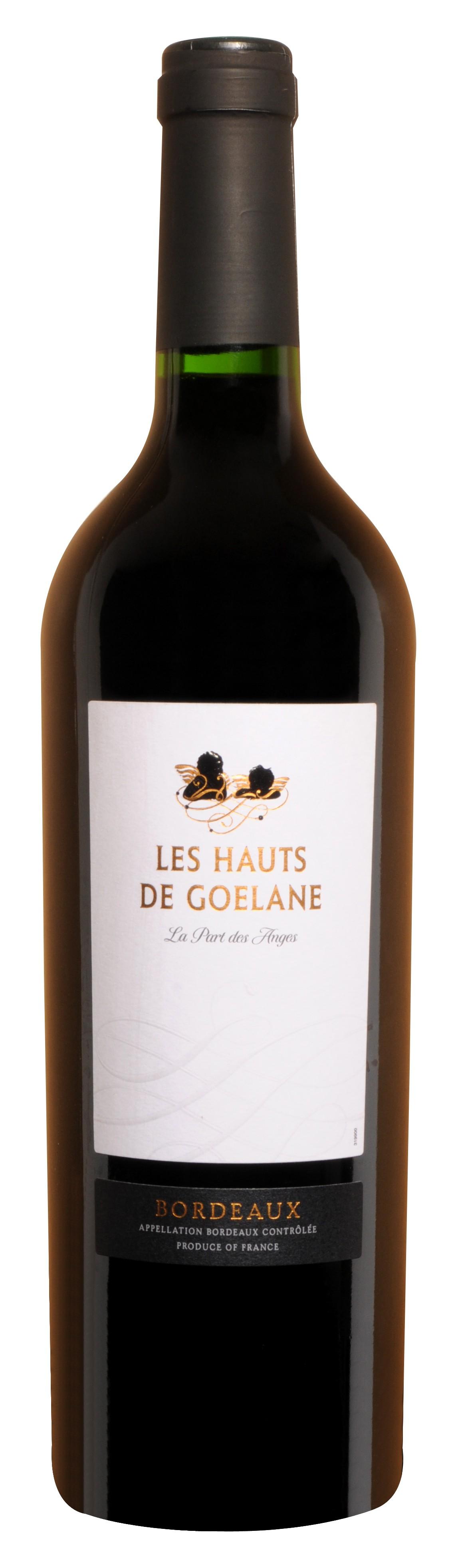 bouteille de vin bordeaux rouge haut de goelane. Black Bedroom Furniture Sets. Home Design Ideas