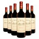 6 Bouteilles de vin Château Le Monge 2008 - AOC MEDOC 75cl.