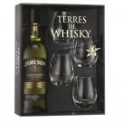 Coffret Terres de Whisky Jameson Select Reserve 70 cl + 4 verres