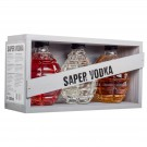 SAPER VODKA GIFT 3X20cl 40° CART