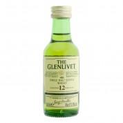 Mignonnette de Whisky Glenlivet 12ans (40° - 5cl)