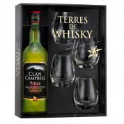Coffret Terres de Whisky Clan Campbell