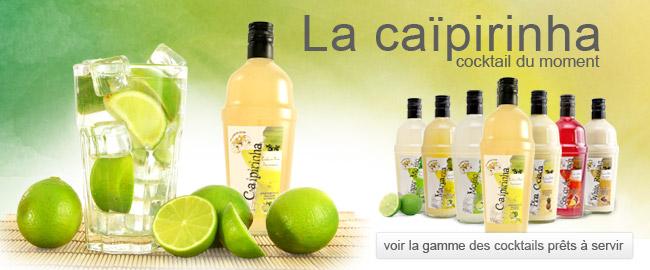 Cocktail tout prêt : Caipirinha