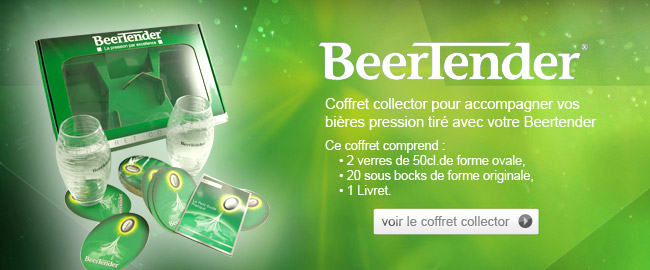 Coffret Collector Beertender