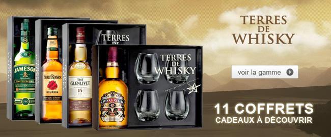 Nos Coffrets Terre de Whisky pour Noel