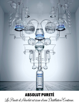 absolut vodka la pureté