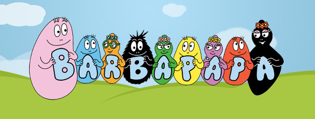 Sirops barbapapa - Barbe a papa dessin anime ...