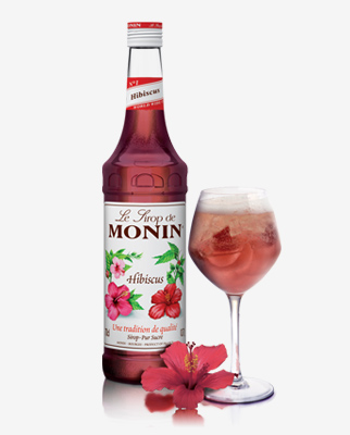 monin hibiscus