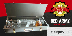 Vodka Red Army : AK47 Kalashnikov