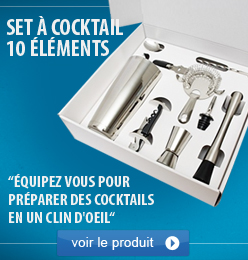 set à cocktail 10 Elements
