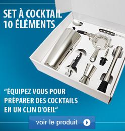 set à cocktail 10 Elements