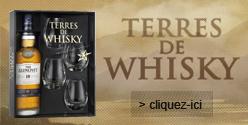 Coffret Terres de Whisky